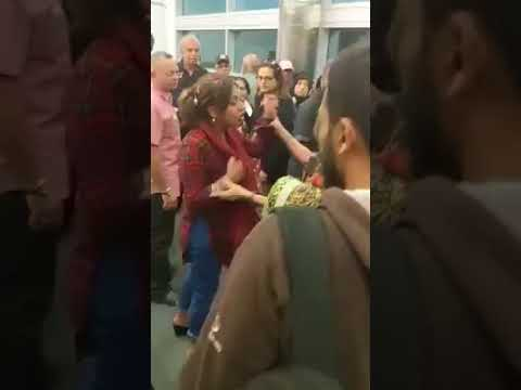 Canada Toronto Pakistani Lady Was Arrested By Police At Pear