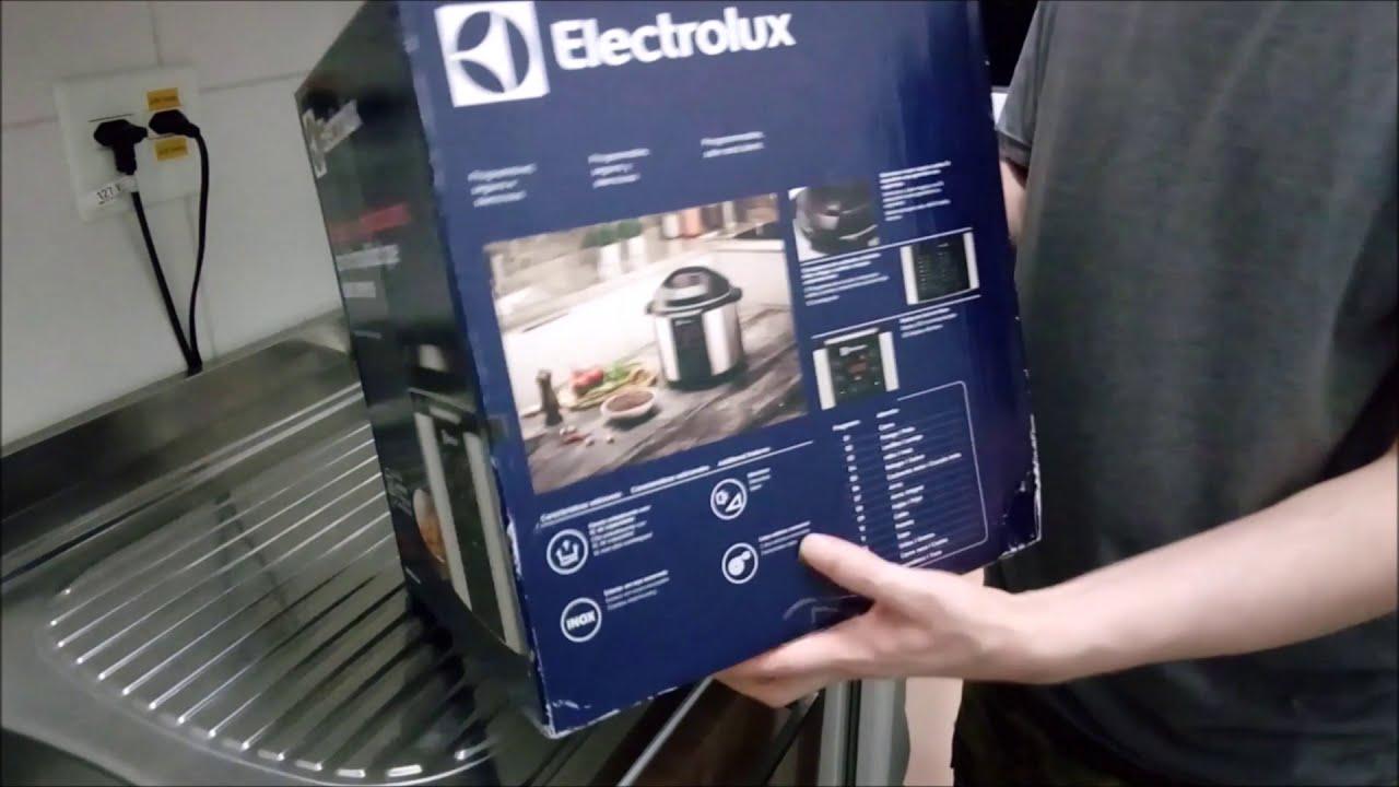 711489799 Unboxing Panela De Pressão Elétrica 6l Electrolux Chef Pcc20 127v ...