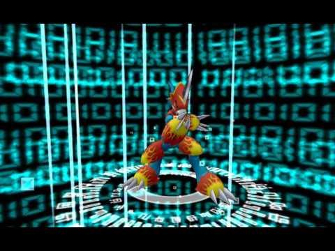 Digimon Linkz Veemon Evolution Flamedramon  Evolution Chart - YouTube