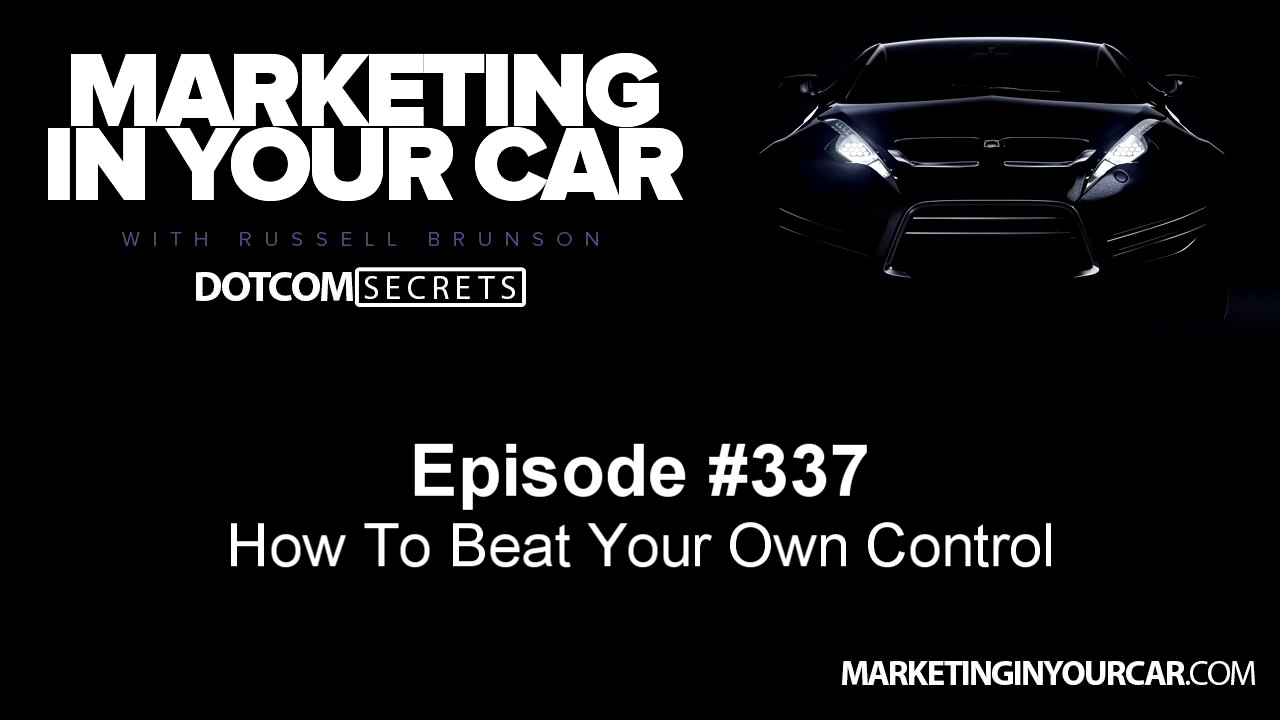 337 - How To Beat Your Own Control
