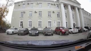 видео Видеорегистратор с двумя камерами и звуком