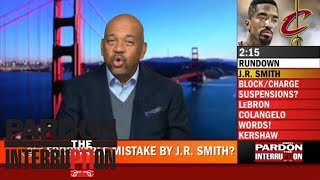 Frank Isola: What JR Smith did in Game 1 is unforgivable | Pardon The Interruption | ESPN