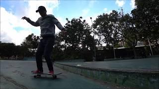 2018 1 14 樹林極限公園滑板