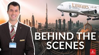 ✈️ A Flight Attendant's Routine | Emirates Experience [SECRET ROOMS A380]