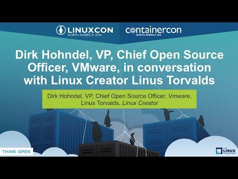 Keynote: Dirk Hohndel in conversation with Linux Creator Linus Torvalds