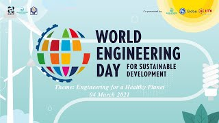 World Engineering Day for Sustainable Development 2021 Webinar