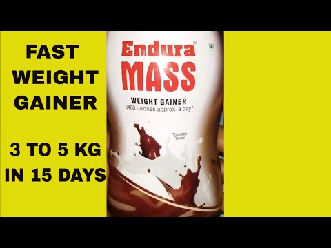 Perfect Weight Gainer Endura Mass. वजन बढ़ाने का जबरदस्त फार्मूला।