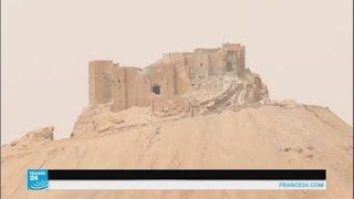 جهود كبيرة ترافق عملية إزالة الألغام من مدينة تدمر التاريخية