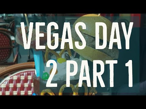 Sugar Factory breakfast and The Wynn Pool - Vegas 2017 Day 2 Part 1