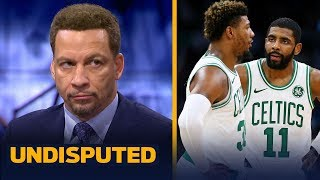 Chris Broussard joins Skip Bayless and Shannon Sharpe in studio to evaluate the state of the Boston Celtics. Broussard explains why he's still 'very high' on the ...
