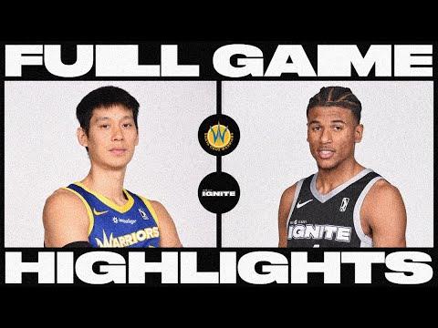 G League Ignite vs. Santa Cruz Warriors - Condensed Game