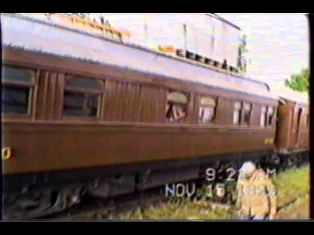 Tren Histórico de Ferroclub Lynch año 1992