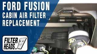ford ranger fuel filter replacement ford fusion fuel filter replacement 2013 ford fusion - cabin air filter replacement how-to ... #9