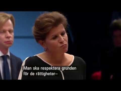 Debatt invandring Danmark & Norge VS Sveriges Annie Lööf & Gudrun Schyman