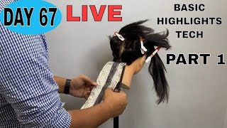 HOW TO DO BASIC HIGHLIGHTS TECH LIVE DAY 67