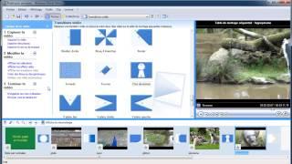 Créer un montage vidéo avec Moviemaker 2 (2/3).