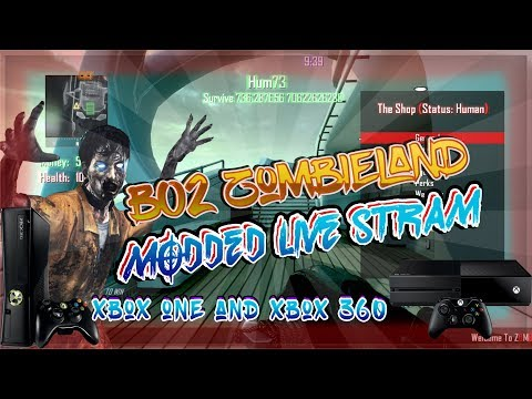 """FREE BO2 MODDED GAMEMODES """"ZOMBIELAND LOBBIES XBOX ONE AND XBOX 360"""
