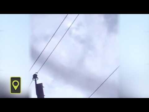 Зарождение алтайского торнадо попало на видео
