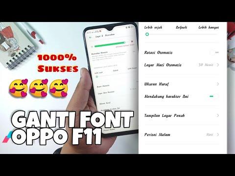 Cara mengganti font oppo f11 - PakVim net HD Vdieos Portal