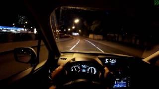 Subaru Forester XT - болтовня в ночном движении (60p)