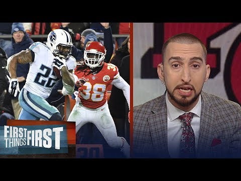 Nick and Cris on the Titans' 22-21 win over the Chiefs in the NFL Playoffs | FIRST THINGS FIRST