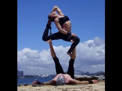 acrobatic yoga dvd how to instructional video  youtube