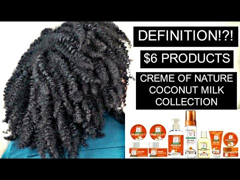 BUTTT HOWWWWWWWW !?!?!? CREME OF NATURE COCONUT MILK COLLECTION | Bubs Bee