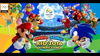 Mario & Sonic at the Rio 2016 Olympic Games Gameplay (Wii U)