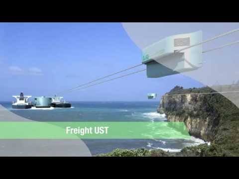 New Transport Technology SkyWay - Freight UST