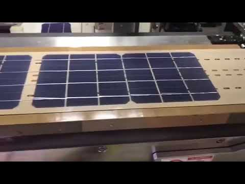 Solar cell on Producing