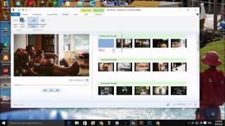 Making a slideshow with Windows Live Movie Maker screenshot 3