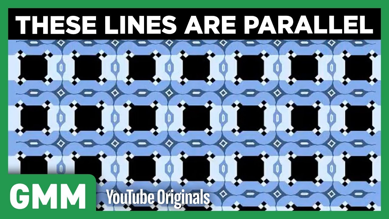 optical illusions mythical fans morning