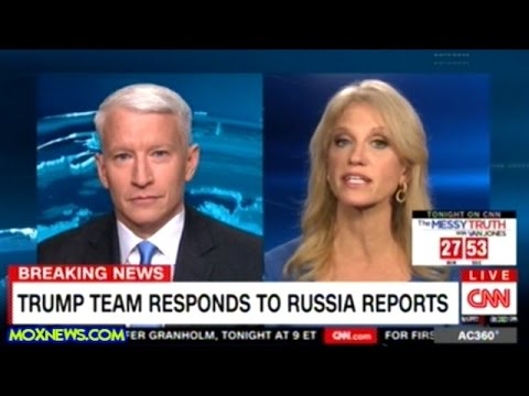 """Kellyanne Conway Lays Into """"FAKE NEWS"""" Anderson Cooper!"""