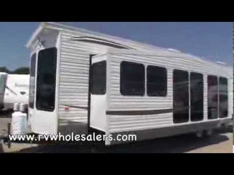 2011 Wildwood Grand Lodge 408FLFB Park Trailer Camper At RVWholesalers 051580