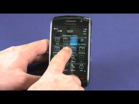 how to add email to blackberry
