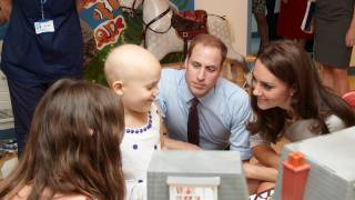 Duke and Duchess of Cambridge open cancer centre