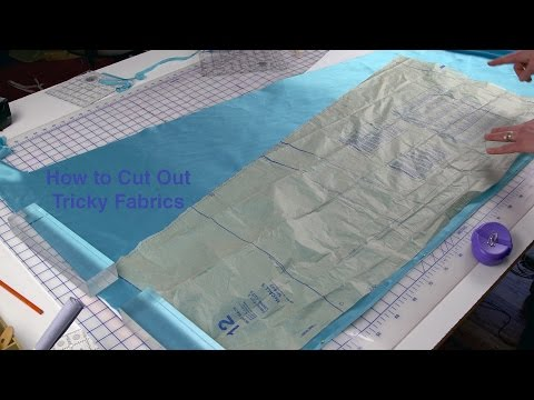 J Stern Designs l  How to Cut Out Tricky Fabrics
