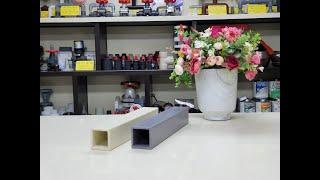 PVC 사각 파이프. PVC SQUARE PIPE