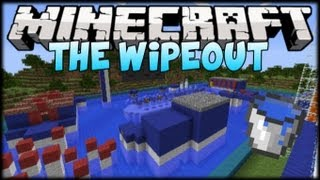 Minecraft Mini-Games: WIPEOUT w/ OhTekkers & TOXICWASTEII (Obstacle Course)