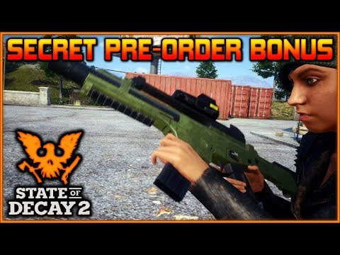 """""""SECRET Pre-Order ITEMS"""" for State of Decay 2 Ultimate Edition!!!"""