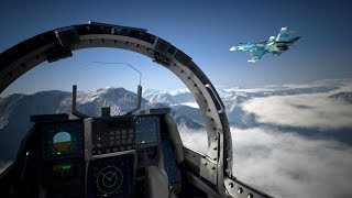 Most Beautiful Air Combat on Jet Fighters in Awesome Game Ace Combat 7 Skies Unknown
