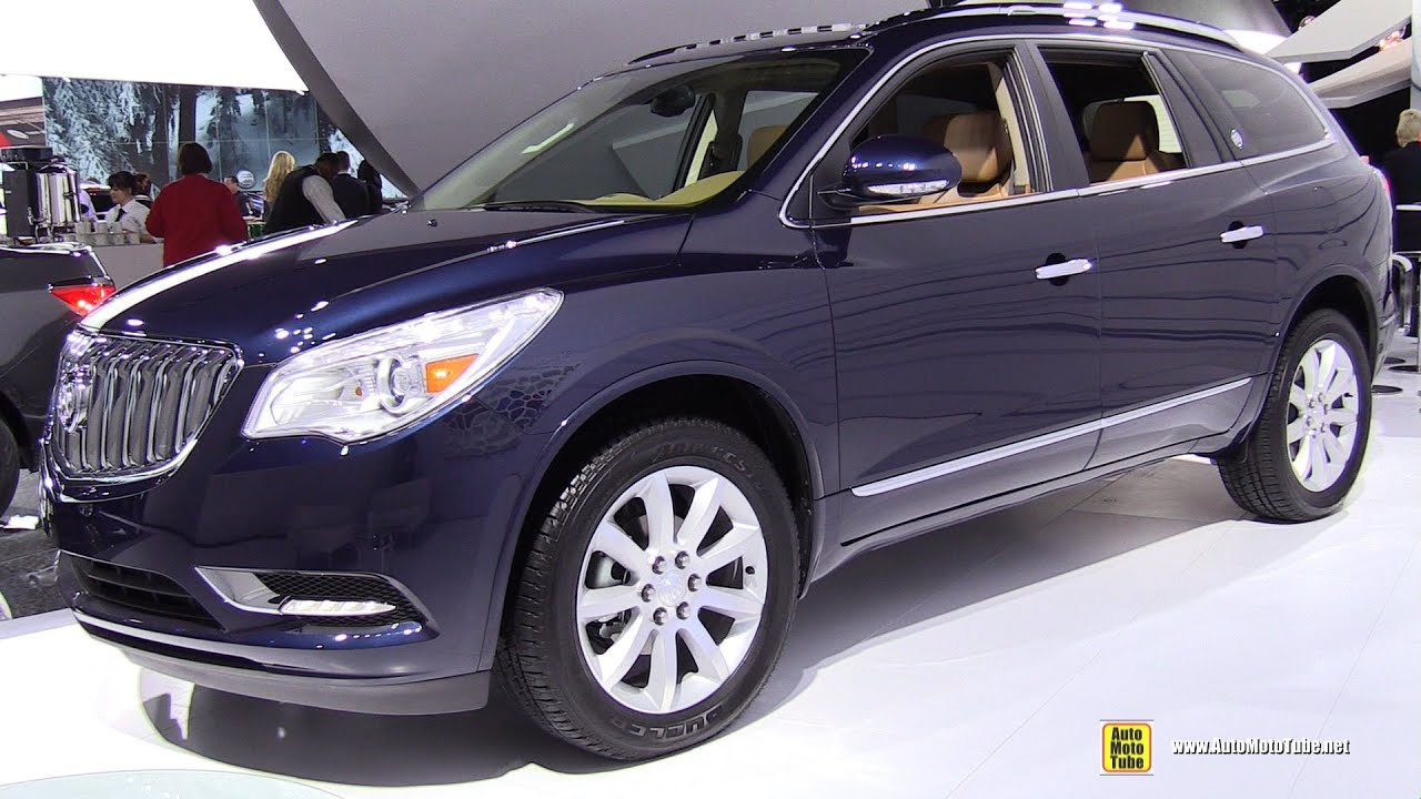 2015 Buick Enclave Exterior And Interior Walkaround