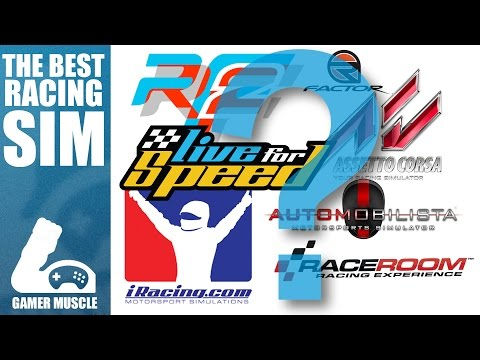 WHICH IS THE BEST RACING SIMULATOR  ?