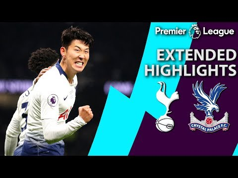 Tottenham v. Crystal Palace | PREMIER LEAGUE EXTENDED HIGHLIGHTS | 4/3/19 | NBC Sports