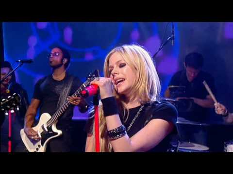 Avril Lavigne  Hot  @ Friday Night Project