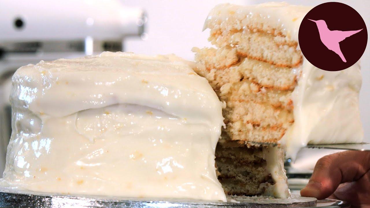Lemon Doberge Cake Hummingbird
