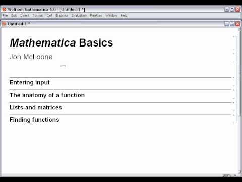 mathematica 5 software free download