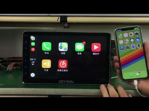 JOYING Octa-Core Bluetooth Audio 10.1 Inch HD Display Apple CarPlay iOS 11 Support
