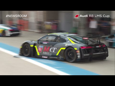 Round 7 Qualification Highlights in Korea   Audi R8 LMS Cup 2016