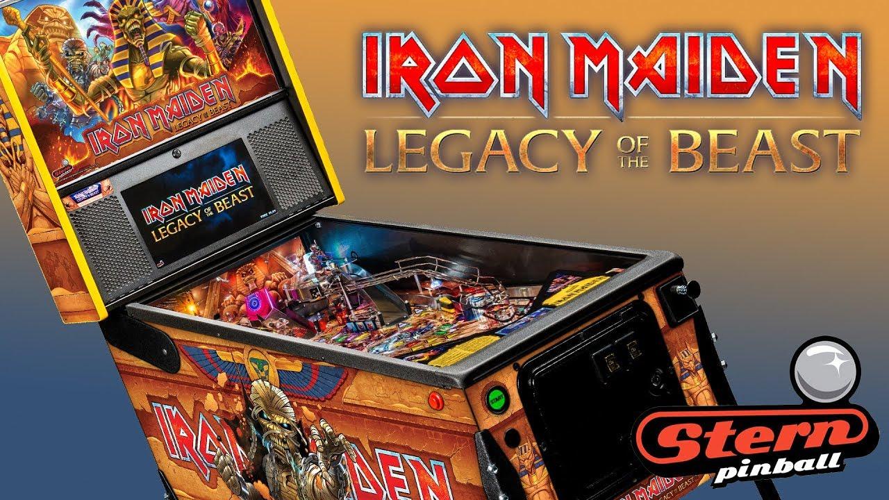 Stern Pinball Iron Maiden Premium / LE Trailer